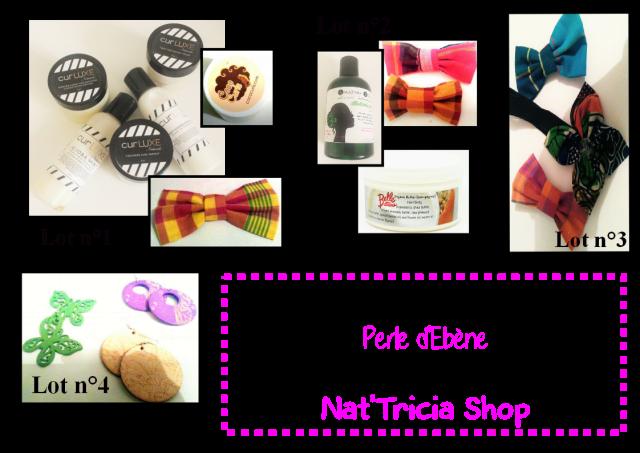 jeu concours Nat' Tricia Shop